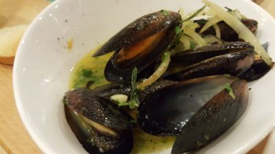 Rice & Fries Cafe at Kembangan, Singapore - Black Mussels ($12.80)