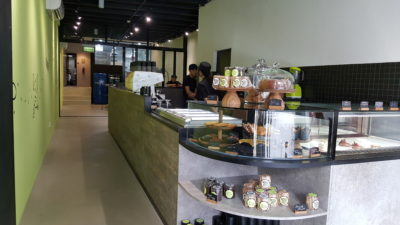 Butterknife Folk With Gelato, Cakes & Coffee At River Valley, Singapore - Interior
