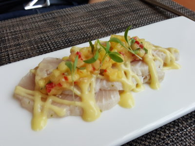 Osia Steak and Seafood Grill At Resort World Sentosa Singapore - Hiramasha Kingfish
