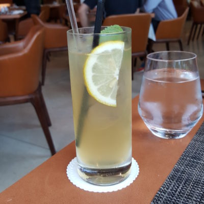 Osia Steak and Seafood Grill At Resort World Sentosa Singapore - Ginger Beer