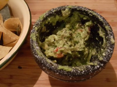 Coyote Tex-Mex Bar & Grill At Phoenix Park, Tanglin, Singapore - Freshly Prepared Guacamole