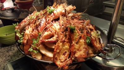'Ultimate Prawn Party' By Makan@Jen At Hotel Jen Orchardgateway Singapore - Baked Cheese Prawn