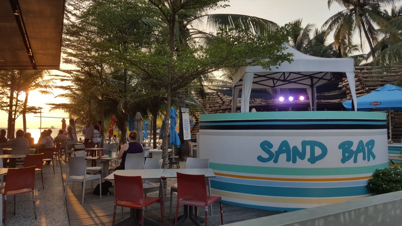 Sand Bar Weekend BBQ @ Siloso Beach In Sentosa, Singapore - Entrance