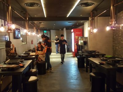 8 Korean BBQ At Shaw Centre In Orchard, Singapore - Interior
