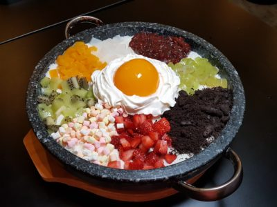 8 Korean BBQ At Shaw Centre In Orchard, Singapore -Bibimbap Bingsu ($28)