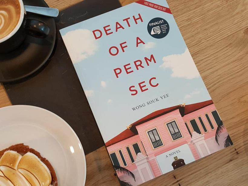 Book Review on Death of a Perm Sec - Book Cover of Death of a Perm Sec