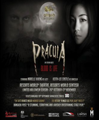 Dracula: Blood Is Life At Resort World Sentosa Review - Poster
