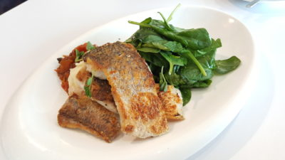Otto's Deli Fresh At Raffles Holland V In Holland Village, Singapore - Pan Fried Barramundi ($19)