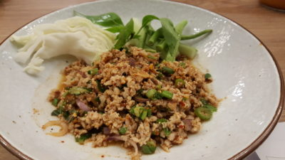 Basil Thai Kitchen At Paragon In Orchard, Singapore - Laab Gai ($8.90)