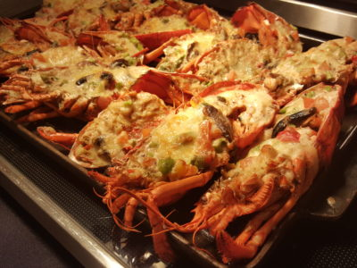 Jolly Jingles Christmas 2016 At Marriott Tang Plaza In Orchard, Singapore - Lobster Spicy Catalana Style