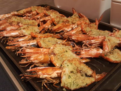 Jolly Jingles Christmas 2016 At Marriott Tang Plaza In Orchard, Singapore - Gratinated Prawns