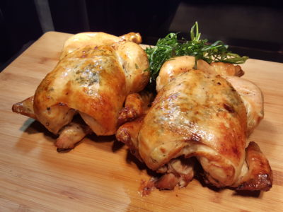 Enchanted Christmas 2016 At Park Hotel Alexandra - Spit-roast chicken with Tarragon