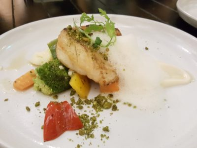 Portico Prime At Dempsey Singapore - Baked cod fish