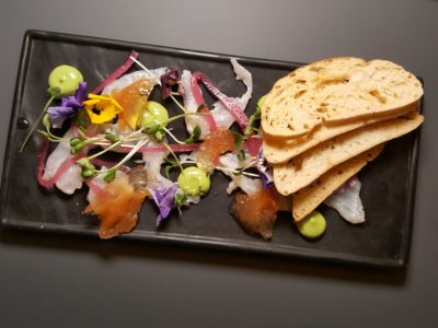 Alchemist Beer Lab At South Beach In Esplanade, Singapore - Ceviche of Goldband Snapper ($16)