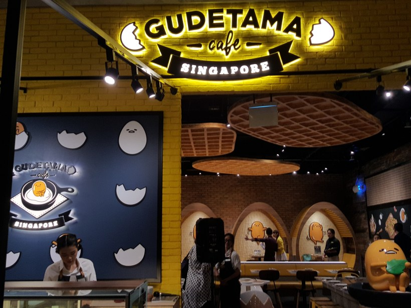 Gudetama Cafe Singapore At Suntec City - Entrance