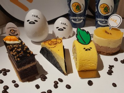 Gudetama Cafe Singapore At Suntec City - Cakes