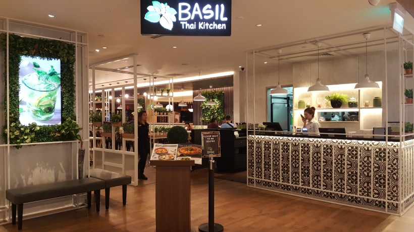 Basil Thai Kitchen At Paragon In Orchard, Singapore - Entrance