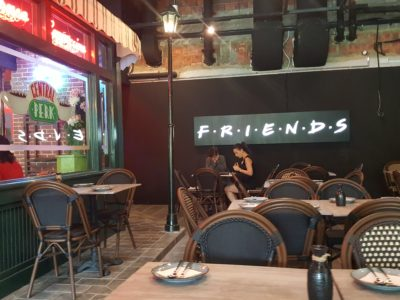 Central Perk, F.R.I.E.N.D.S Theme Cafe, At Central Mall - Al Fresco Theme Dinning Area