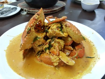 Mellben Signature Opened Through Chinese New Year 2017 In Tanjong Pagar - Curry Paste Crab