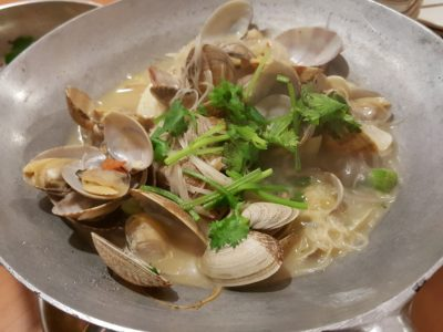 Spicy Thai Thai Cafe Revisit at Aljunied - Lala (Clams) Bee Hoon ($18)