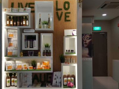 Theresa Beauty Massage and Reflexology Services at Toa Payoh, Singapore - Products display