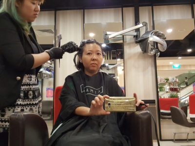 Marina Square Pampering Divine Deals - Kimage Cove: Hair Colouring In Progress