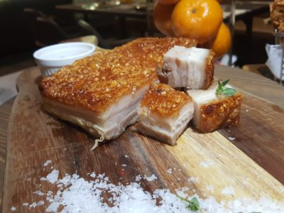 The Carvery Celebrates Chinese New Year 2017 - Crispy pork belly
