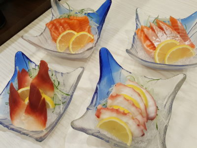 Sushi Mentai At Junction Nine In Yishun, Singapore - Sashimi ($5.50 - $7.50)
