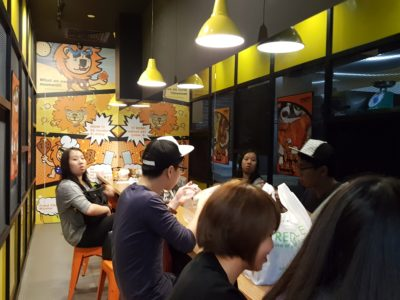 Taiwan's Fried Chicken Master At NEX - Dinning in Area