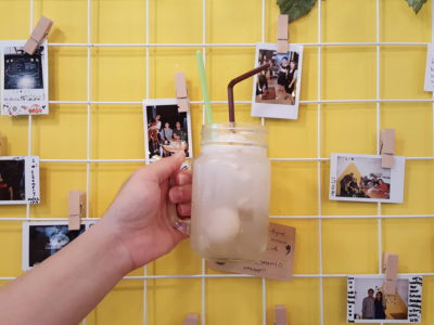 Creamery Boutique Ice Creams At Tyrwhitt Road - Lychee Ice Cream Soda ($5.50)