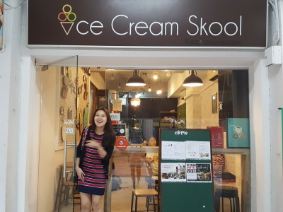 Ice Cream Skool At Tampines Street 42 - Facade