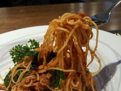 Greyhound Cafe Singapore At Paragon - Angel Hair Pasta