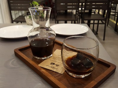 D'Good Cafe @ Ngee Ann City, London Subway Theme - Coconut Infused Cold Brew ($9.50)
