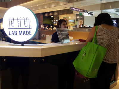 Lab Made Singapore, Popular Liquid Nitrogen Ice Cream From Hong Kong Here At West Gate - Counter