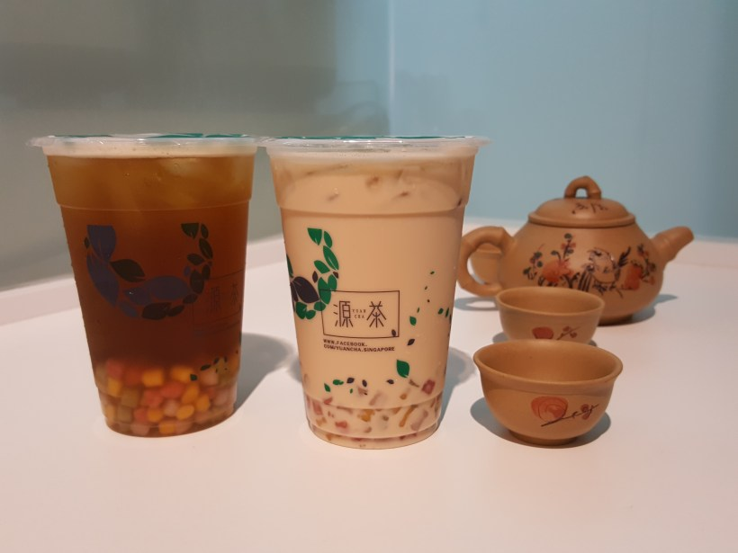 Yuan Cha, Second Outlet Now In Town, Far East Plaza - Yuan Cha Bubble Tea