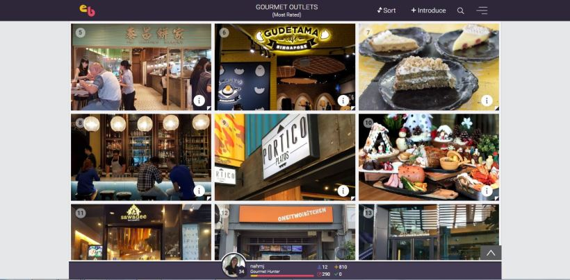 EhBuzz New Food, Beauty and Tech Guide App - Top Outlets