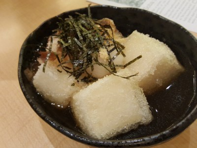 Shimbashi Soba Offering Freshly Made Soba Daily At Paragon - Adedashi Tofu ($7.80)
