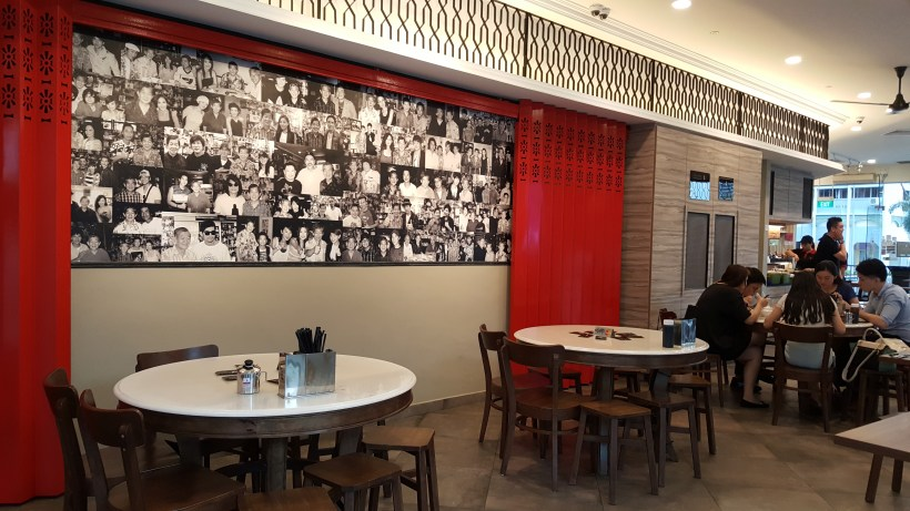 Founder Bak Kut Teh Re-visit For Its New Dishes At Hotel Boss - Interior Dinning Area