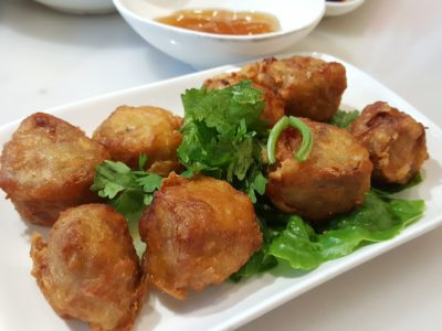 Founder Bak Kut Teh Re-visit For Its New Dishes At Hotel Boss - Crispy Prawn Roll ($5.80/$10.80)