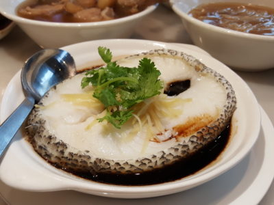 Founder Bak Kut Teh Re-visit For Its New Dishes At Hotel Boss - Steamed Cod Fish ($18.80)