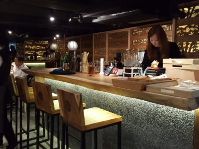 Jimoto-Ya At China Square Central Offering Hokkaido Ebi-Tonkatsu Ramen by Michelin-Starred Chef Nobumasa - Counter seats