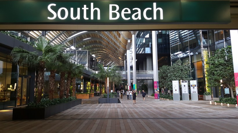 South Beach Avenue, The D-Place To Be For Everyone - South Beach Avenue, Entrance from Esplanade MRT Station