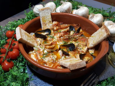 South Beach Avenue, The D-Place To Be For Everyone - Atmastel, Zuppa di Pesce ($68 for two)