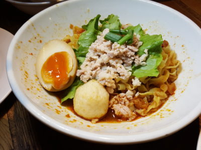 Revamped With New Tenants At Food Republic VivoCity - Guan's Mee Pok, Mee Pok Noodle Signature ($5)