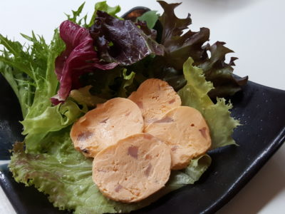 Ippin Cafe x Kesennuma Shishiori, Creating Dishes Using Sustainable Seafood - Classic Salted Squid Guts with Cream Cheese