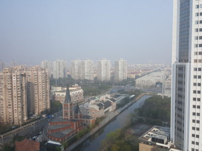 Shanghai Marriott Hotel Pudong East - A view