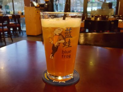 Blue Frog 蓝蛙, Western Casual Dining Restaurant Chains, At Jinqiao, Pudong - Iced Tea