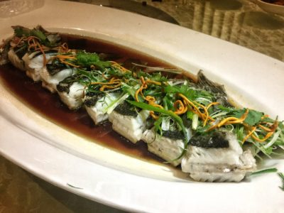 Si Chuan Dou Hua At PARKROYAL on Kitchener Road - Steamed Turbot Fish
