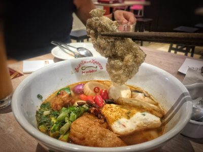 Yentafo Kruengsonge @ Kallang Wave Mall, 'yen ta fo' Specialist Introduces New Menu – Original Tom Yum Noodles Soup