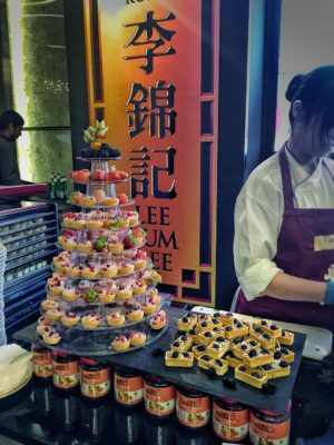 World Gourmet Summit 2017 – Awards of Excellence Presentation Ceremony and Opening Reception - Tarts made by Lee Kum Kee Sauce